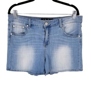 Indigo Rein Forever Bermuda Length Denim Shorts